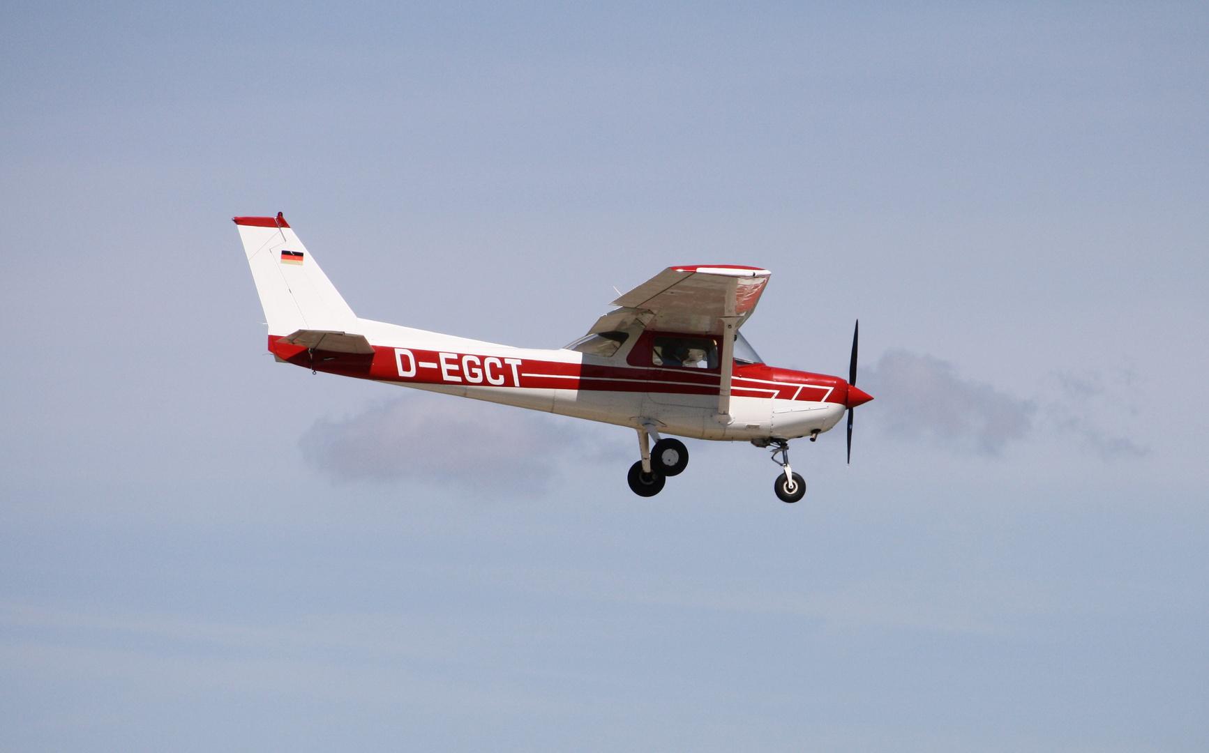 Kleine Propellermaschine Foto Bild Luftfahrt Modellflug