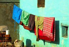 Kleine Wäsche in Hampi