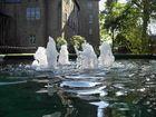 Kleine Wasserspiele am oberen Schloss in Siegen