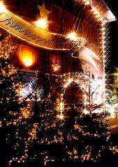 Kleine Weihnachtsserie: Restaurant Lake Side, Zürich (4)