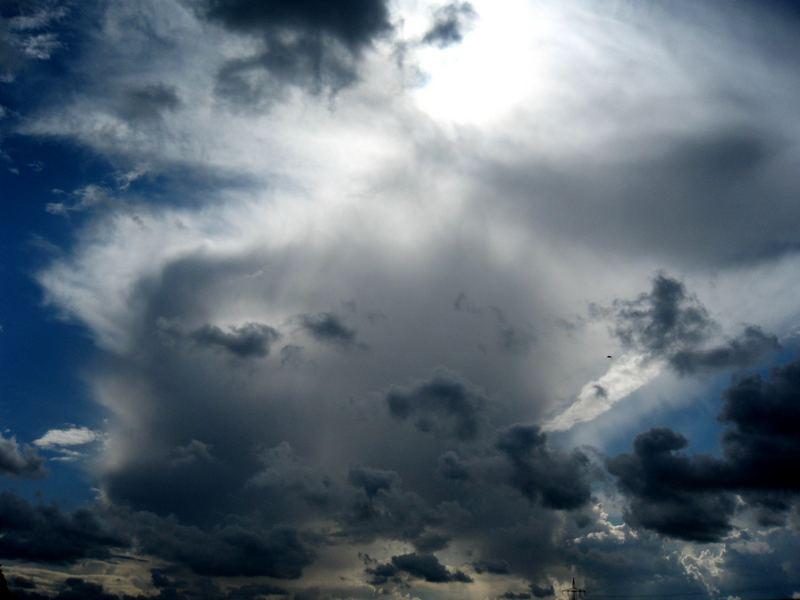kleine Wolken, große Wolken