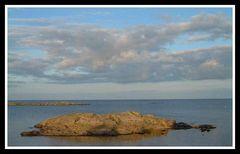 Kleiner Fels im Meer