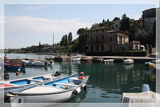 kleiner Hafen am Gardasee