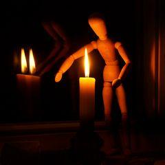 Kleiner Hüter des Lichts ...