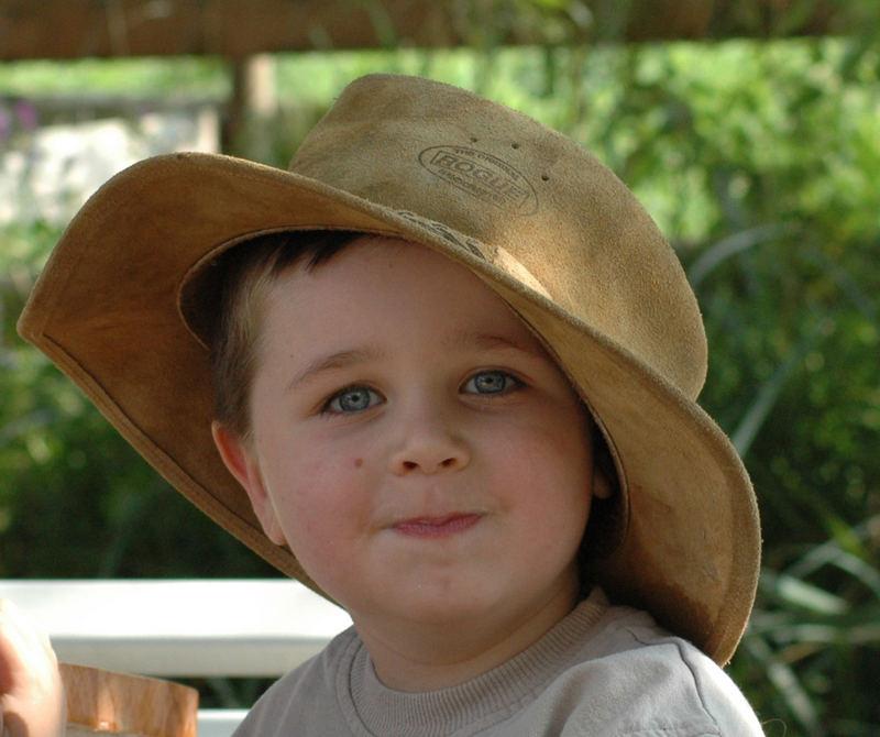 kleiner mann mit hut ;-)