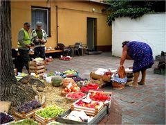 Kleiner Markt im Hinterhaus