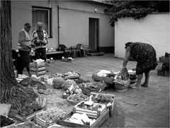 Kleiner Markt im Hinterhof