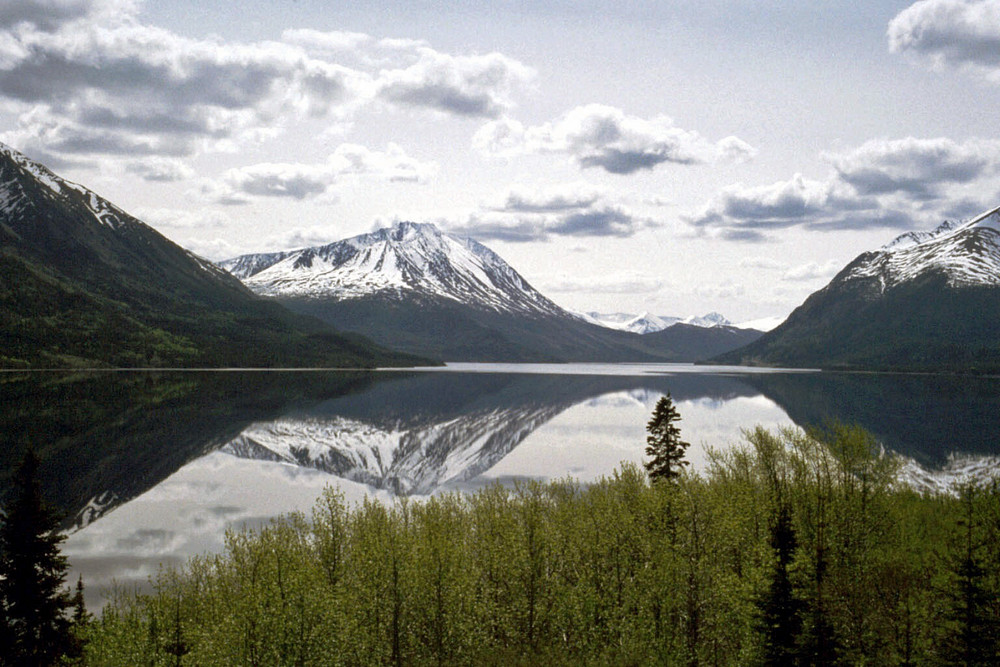 Kleiner See in Canada