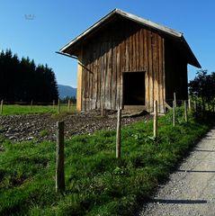 """""""Kleiner Stall kurz vor der Siede Alpe"""""""