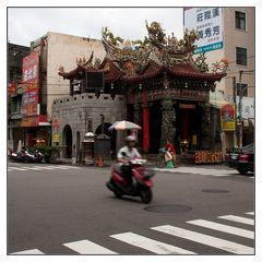 kleiner Tempel in Changhua