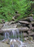 kleiner Wasserfall...