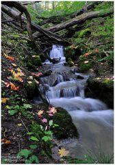 --- Kleiner Wasserfall ----