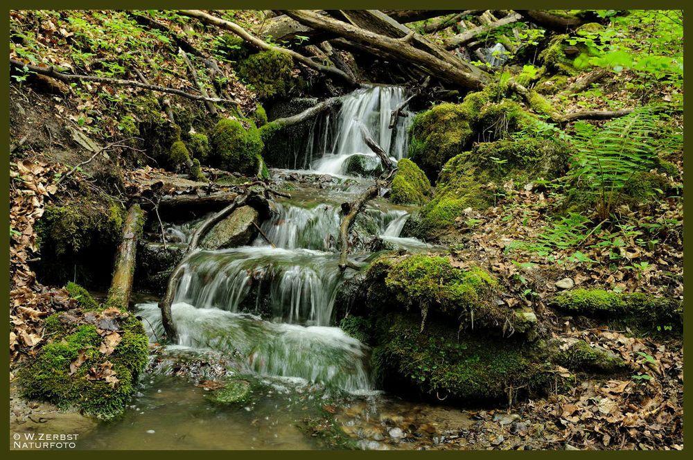 - Kleiner Wasserfall -