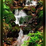 kleiner Wasserfall..