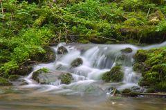 Kleiner Wasserfall in der Gauchachschlucht