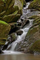 Kleiner Wasserfall in der Rettenbachklamm!