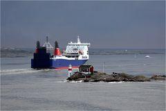 Kleiner Wegweiser für große Schiffe