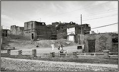 kleines Dorf - auf dem Weg nach Abydos