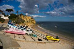 Kleines Fischerdorf an der Algarve