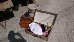 kleines Gepäck bei der Auswanderung aus Roccacaramanico