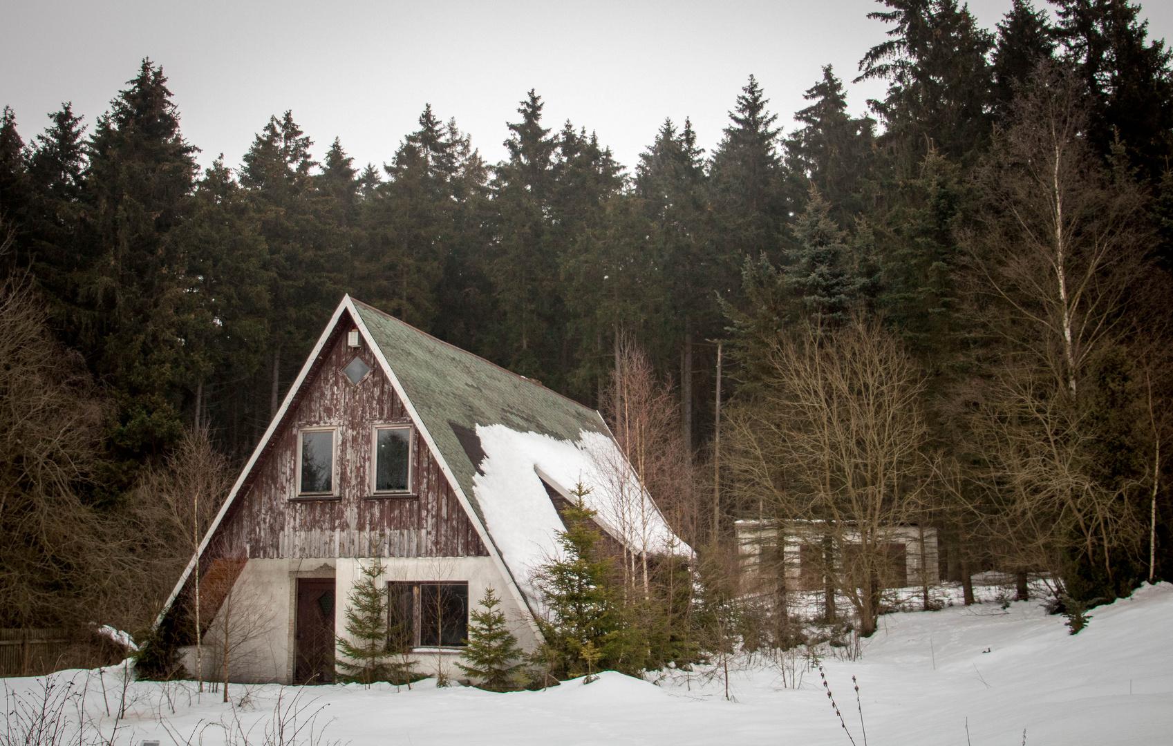 Kleines Haus Am Wald Foto Bild Architektur Landliche