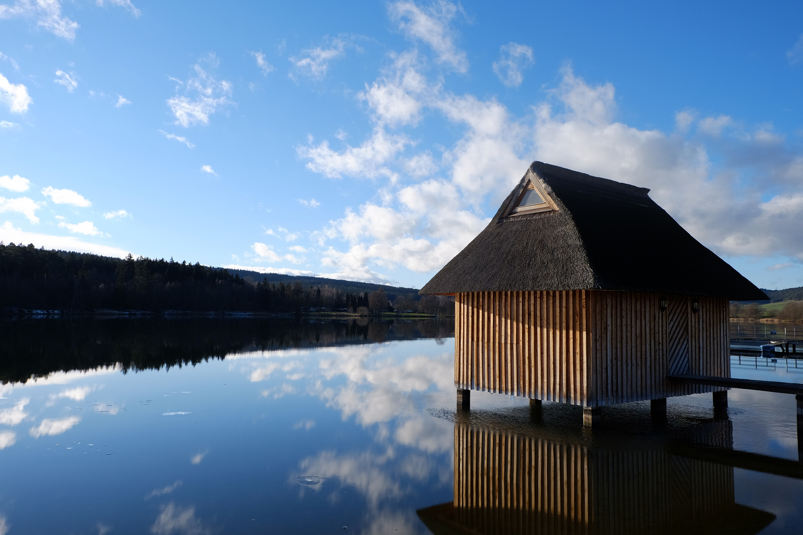Kleines Haus im See\
