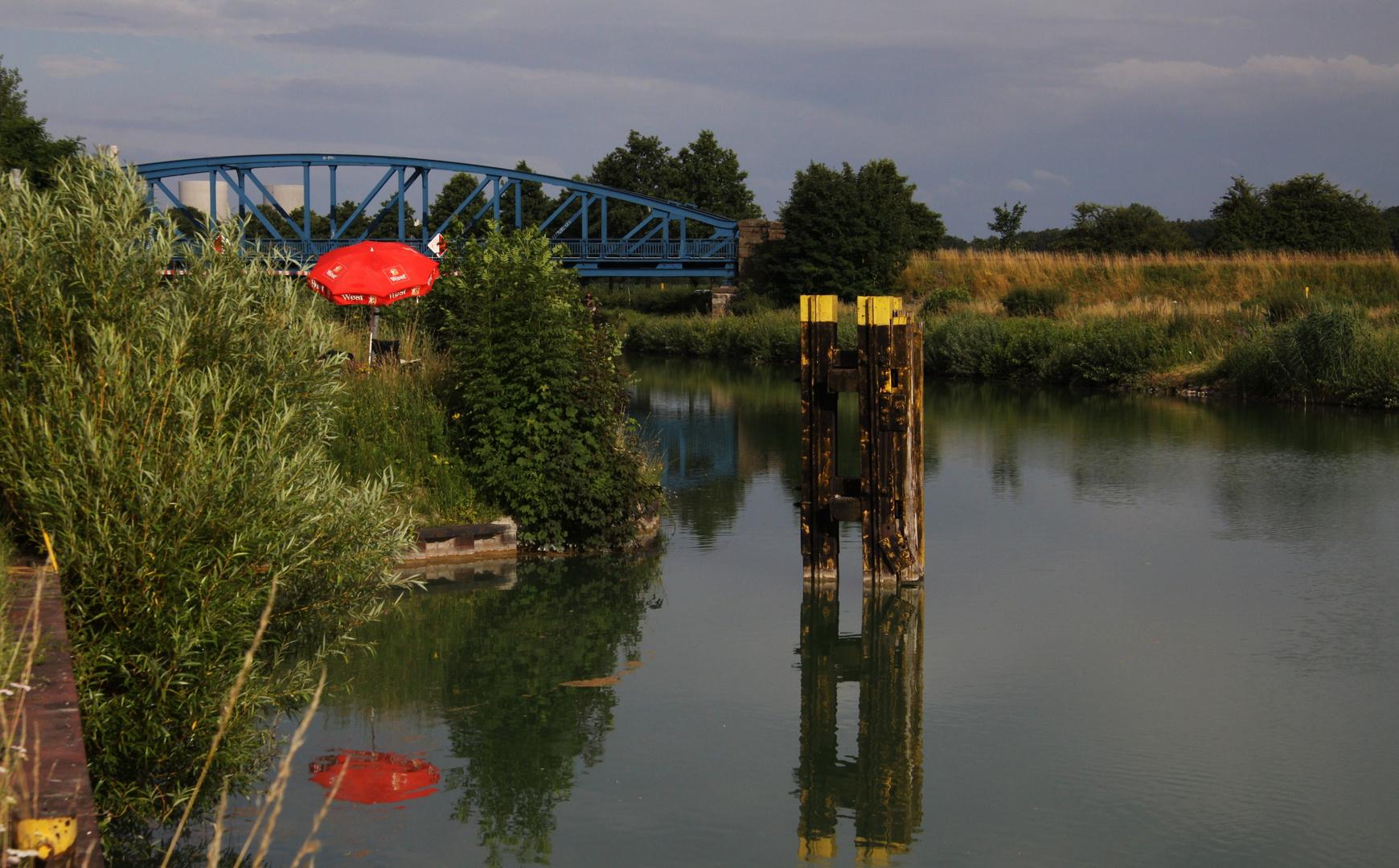 Kleines Idyl am Datteln-Hamm-Kanal