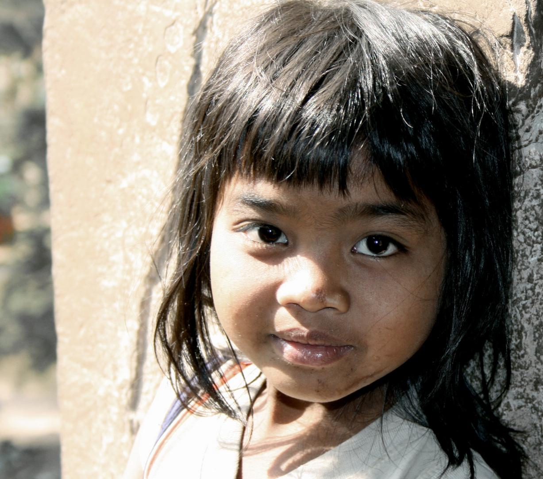 Kleines Mädchen @ Angkor