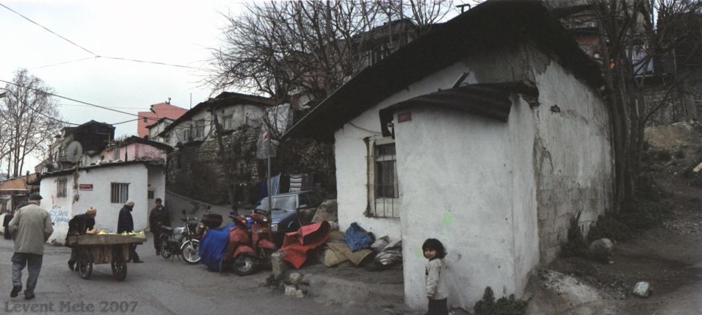 Kleines Mädchen in Istanbul