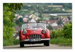 kleines rotes auto
