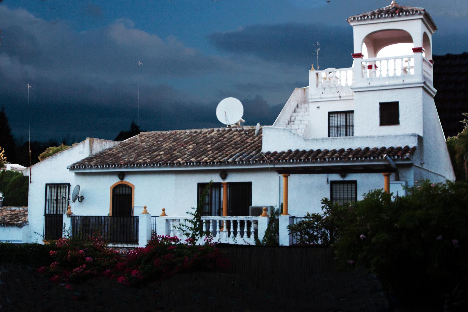 Kleinstadt Haus In Andalusien Mit Maurischen Einschlag Foto Bild