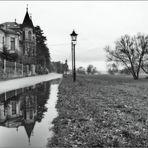 Kleinzschachwitzer Ufer nach dem Regen ...