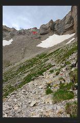Kletterei auf den Obiou