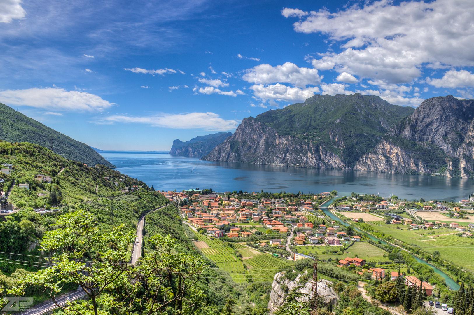 Klettern Gardasee Nago-Torbole
