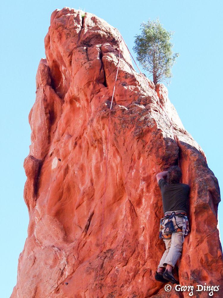 Klettern im Garden of the Gods  20130928