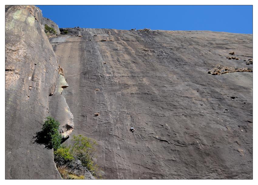 Klettern im Tsaranoro Gebirge