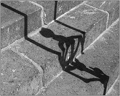 Kletternder Schatten