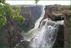 Kletterpartie zu den Victoriafällen ... in Sambia +RADTOUR