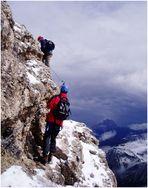 """Klettersteig """"Cesare Piazzetta"""" - Dolomiten 3"""