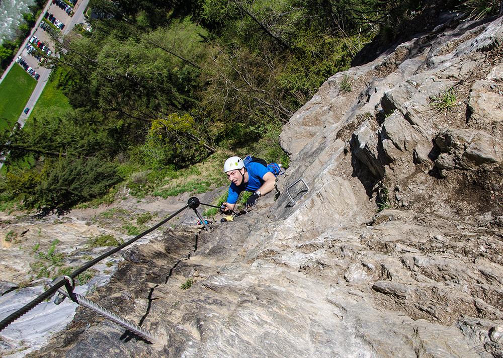Klettersteig Mayrhofen : Klettersteig in mayrhofen foto & bild sport berg und klettersport