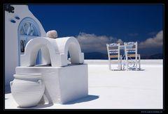Klischee Santorini