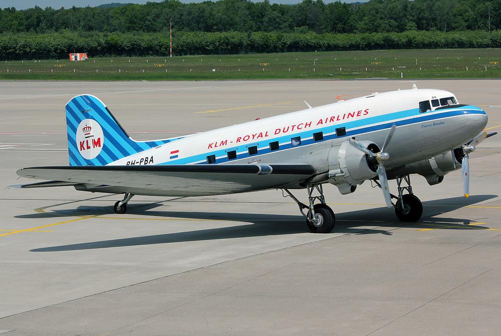 KLM Douglas DC-3 PH-PBA