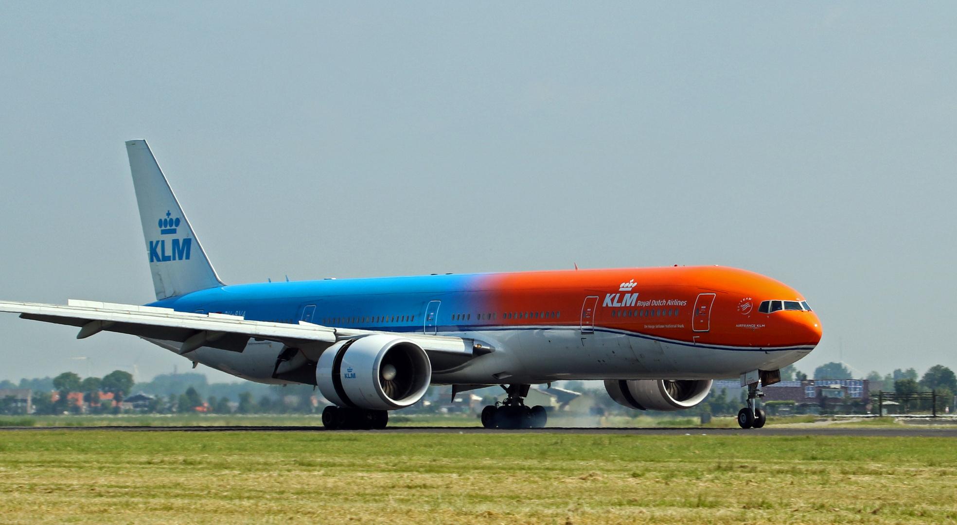 KLM / ORANGE PRIDE Livery