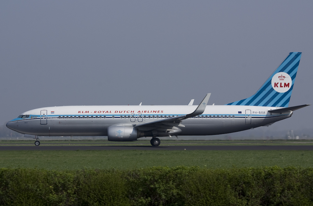 KLM - Royal Dutch Airlines - Boeing 737-8K2 - Retro-Design