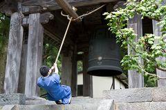 Klöckner im Rinnoji-Tempel