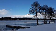 Klopeiner See im Winter