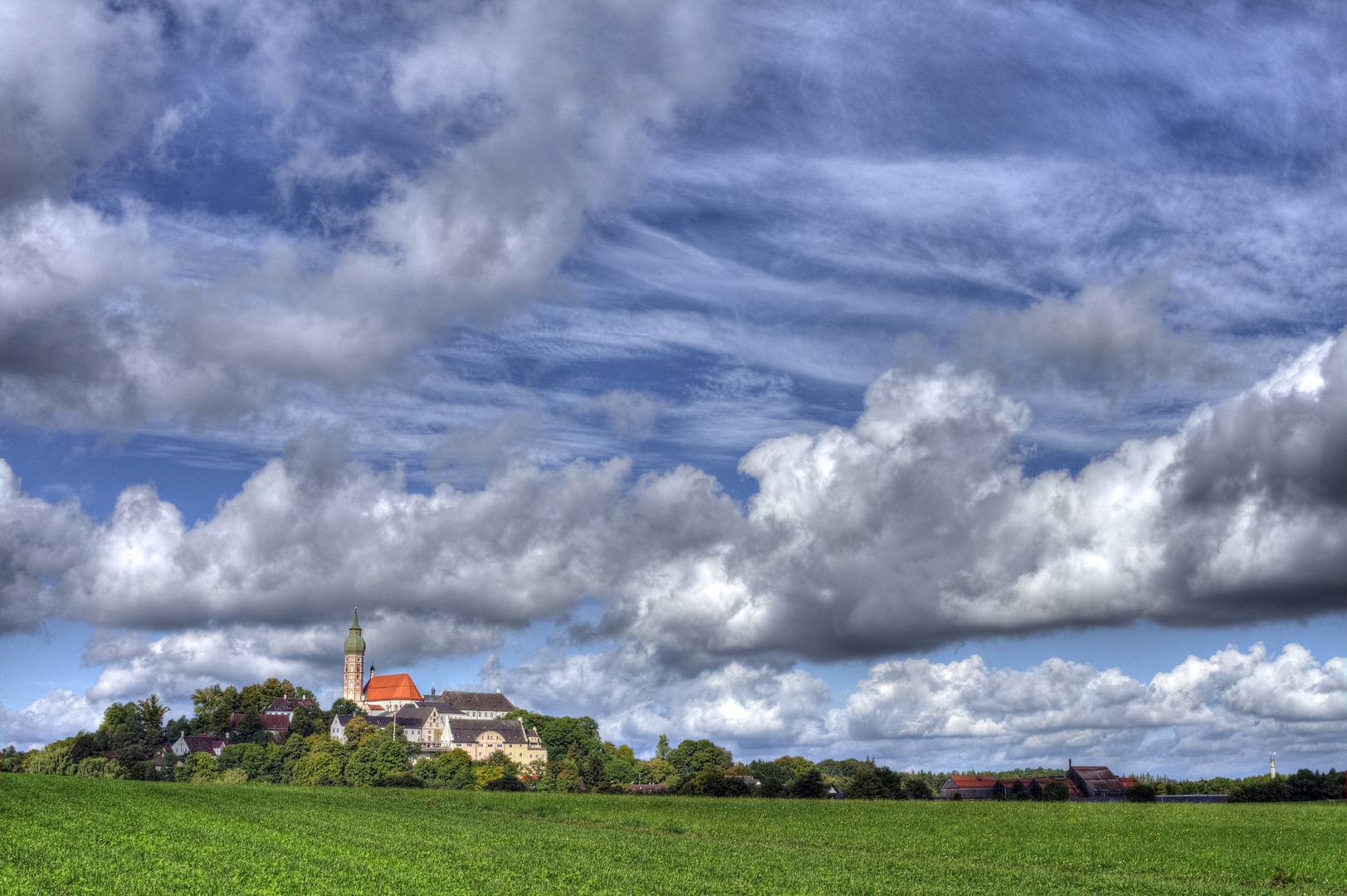 Kloster Andechs III HDR
