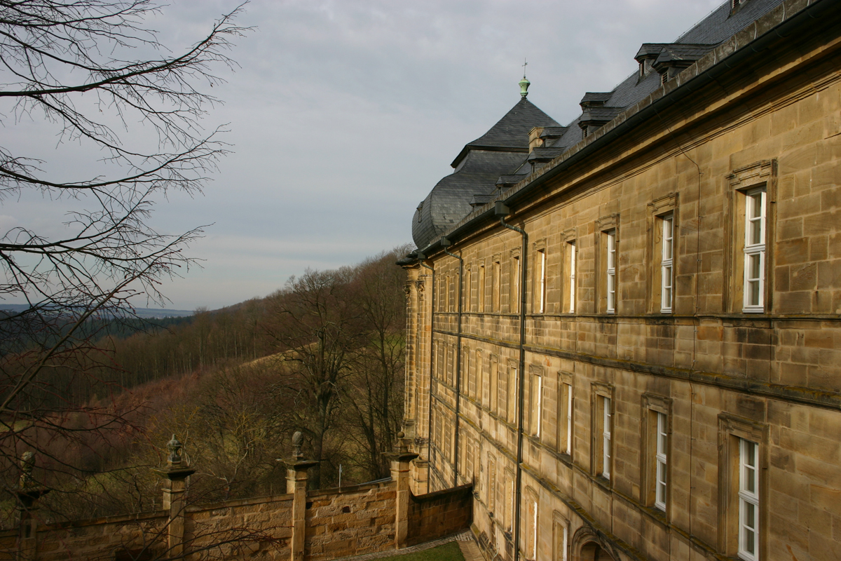Kloster Banz en Bad Staffelstein