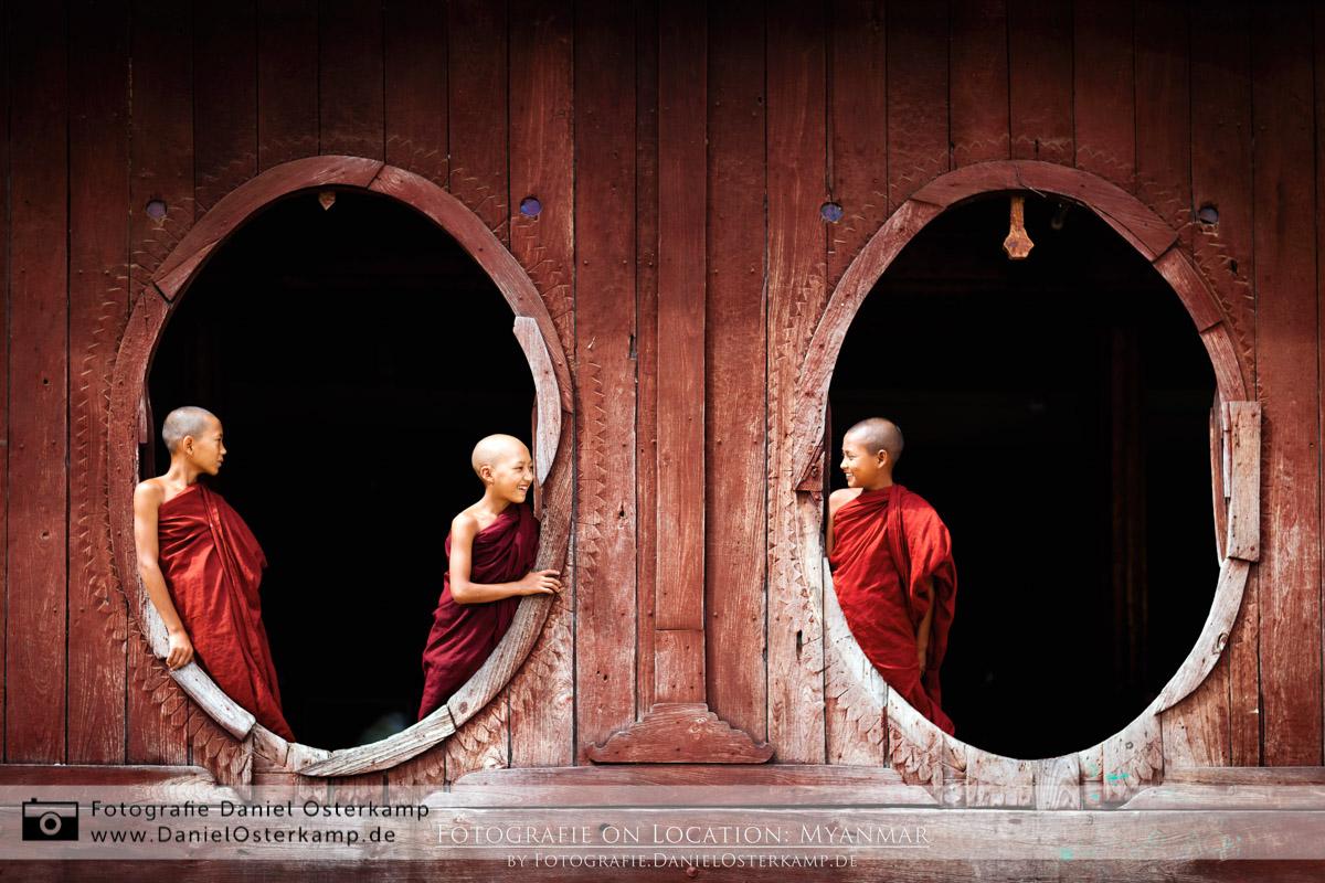 Kloster beim Inle See (Shwe Yan Pyay in Nyaungshwe)