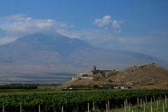 Kloster Chor Virap  vor dem Ararat